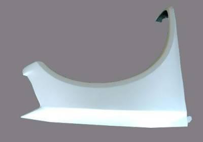 Titan Fiberglass Front Fenders
