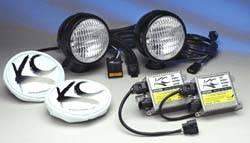 """5"""" HID Black Flood Light Kit"""