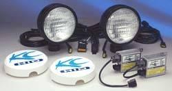 """6"""" HID Black Flood Light Kit"""