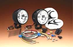 """5"""" Black Chrome Long Range Light Kit"""