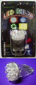 Economy LED White, Green or Blue Replacement Bulb