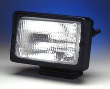 Black Plastic External Switch Flood Light