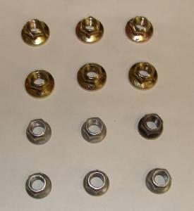 Upper Exhaust Stud Nuts