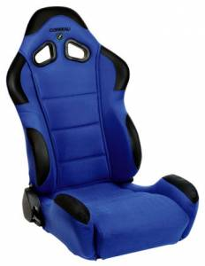 CR1 Blue Cloth Seat Extra Width