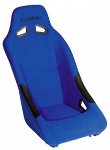 Clubman Blue Cloth Seat