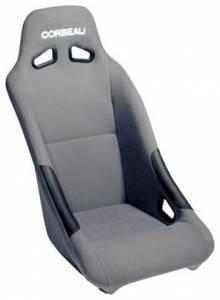 Clubman Grey Cloth Seat