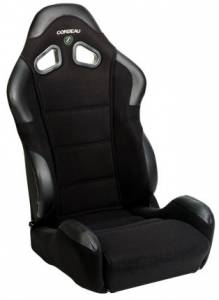 CR1 BlCR1 Black Cloth SeatCloth Seat