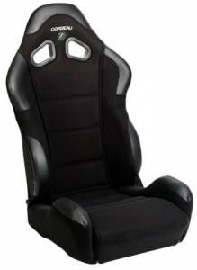 CR1 Black Cloth Seat Extra Width