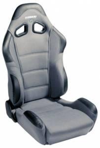 CR1 Grey Cloth Seat Extra Width