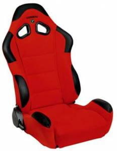 CR1 Red Cloth Seat Extra Width