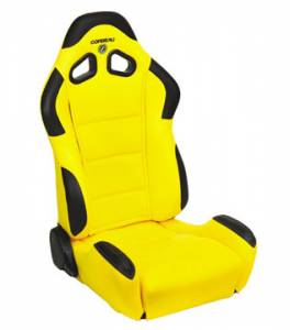 CR1 Yellow Cloth Seat Extra Width