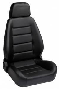 Sport Seat Black Vinyl