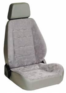 Sport Seat Grey Vinyl & Cloth