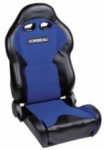 VX2000 Black Vinyl With Blue Cloth Seat