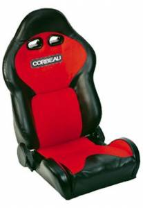 VX2000 Black Vinyl With Red Cloth Seat