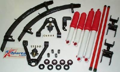Frontier Articulator Suspension Package