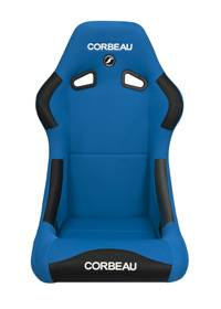 Forza Blue Cloth Extra Width Seat