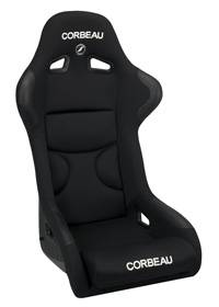 FX1 PRO Black Cloth With Black Inserts Seat