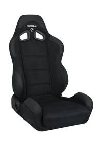 CR1 Black Micro-Suede Seat
