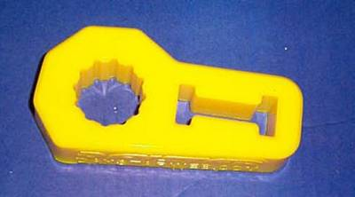 Yellow Hi-Lift Jack Isolator