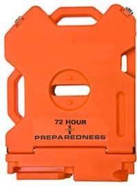 Empty 72 Hour Preparedness Container
