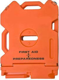 Empty First Aid + Preparedness Container