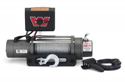Warn M8000 Winch With Roller Fairlead