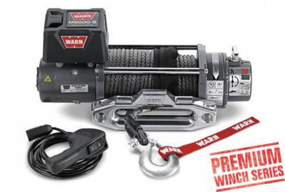 Warn M8000-S Winch With Aluminum Hawse Fairlead