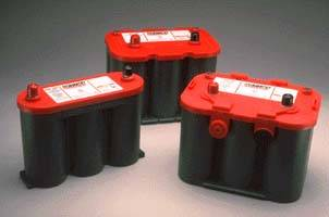Optima Red Top Battery with Top Posts