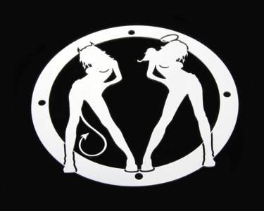 Angel/Devil Universal Grille Logo