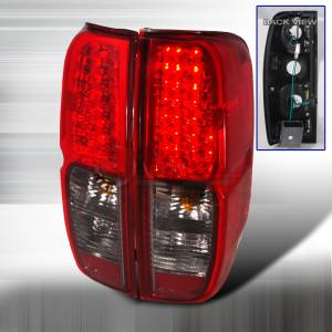 Frontier LED Taillights - Smoke