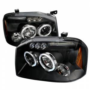 FRONTIER HALO LED PROJECTOR HEADLIGHTS IN BLACK