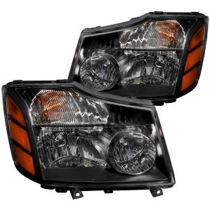 CRYSTAL HEADLIGHTS BLACK