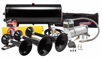 PROBLASTER COMPLETE ABS TRIPLE TRAIN HORN PACKAGE