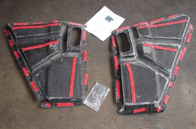 Hood Reinforcement Panel Kit