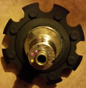 Geared Hub Wheel Spindle