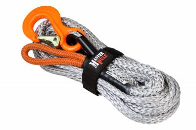 "3/8"" SUPERLINE WINCH EXTENSION WITH G100 COBRA SLING HOOK"