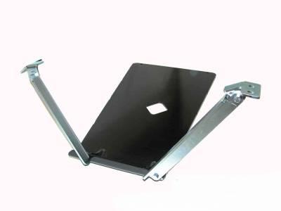 LONG ARM ENGINE/TRANSMISSION SKID PLATE
