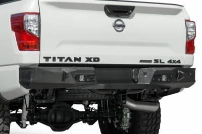 TITAN XD STEALTH FIGHTER REAR BUMPER W/ SENSORS
