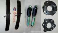 2005-2014 Frontier Suspension Packages - Basic Suspension Lifts & Lift Packages - ACS Lift With Single Add-A-Leaf