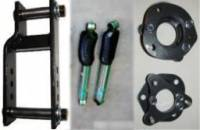 2005-2014 Frontier Suspension Packages - Basic Suspension Lifts & Lift Packages - ACS Lift With Adjustable Shackles