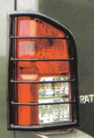 Armor - Tail Light Guards - Pathfinder Stainless Tail Light Guards