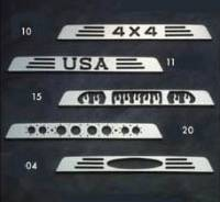 Accessories - Billet Accessories - Billet Aluminum Third Brake Light Cover