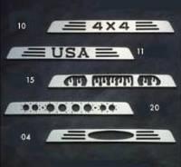 Accessories - Billet Accessories - Billet Aluminum Third Brake Light Cover