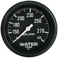 Autogage - Auto Meter Auto Gage Individual Gauges - Mechanical Water Temperature Gauge