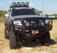 Armor - ARB Winch Mount Bull Bar - ARB - ARB Frontier Winch Mount Bull Bar