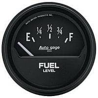 Autogage - Auto Meter Auto Gage Fuel Level and Pressure Gauges - Fuel Level Gauge