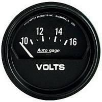 Autogage - Auto Meter Auto Gage Individual Gauges - Electric Voltmeter