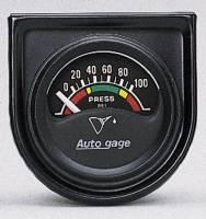 Mini Gauges & Consoles - Auto Meter AutoGage Individual Gauges - Electric Oil Pressure Individual Gauge