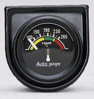 Mini Gauges & Consoles - Auto Meter AutoGage Individual Gauges - Electric Water Temperature Individual Gauge